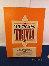 Texas Trivia Board Game 1984,Lone Star Legends