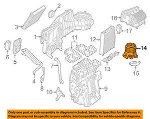 MERCEDES OEM 15-18 GLA250-Blower Motor 2469061601