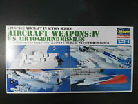 Aircraft Weapons IV, U.S. Air to Ground Missile, Hasegawa, Scale:1/72, Kit:X72-4