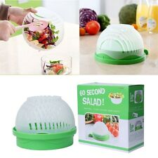 Salad Maker Cutter Bowl Vegetable Fruit Slicer Chopper Strainer Kitchen Tool New