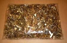1000 Verschlussklemmen Flachkopfklammer  Verschlussklammern Musterbeutelklammern