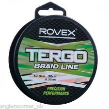Rovex Tergo Braid / Freshwater & Sea Braided Line / Fishing