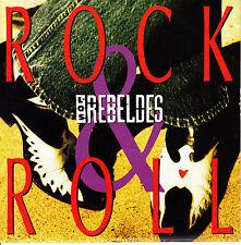 CD SINGLE los REBELDES rock & roll SPANISH rare 1994  ROCKABILLY MINT