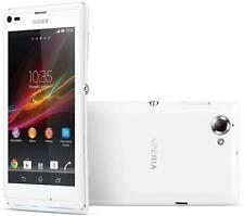 NEW SONY XPERIA L DUMMY DISPLAY PHONE - WHITE - UK SELLER