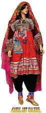 3-teil antik Orient Nomaden Tracht afghan kleid Tribaldance afghanistan dress -E