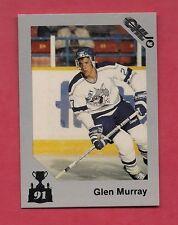 1990-91 # 111 SUDBURY GLEN MURRAY CHL SHORT PRINT  CARD