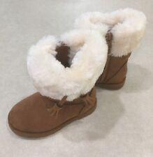 """KIDS KORNER """"Iceland"""" Toddler Girl's Chestnut  Boots~~Size 8"""