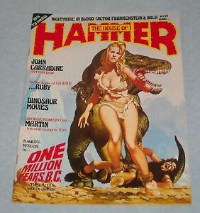The HOUSE of HAMMER # 14 UK MONSTER MAGAZINE ONE MILLION YEARS BC MARTIN RUBY