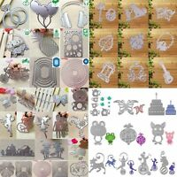 Dies Cutting Stencil DIY Stainless Scrapbooking Embossing Album Paper Card Craft