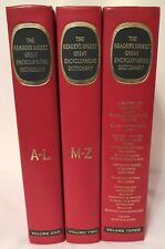 The Reader's Digest Encyclopaedic Dictionary 1969 Encyclopaedia - Set of 3 books