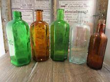 +ANTIK+ Konvolut Gift Flaschen / Giftflaschen / Totenkopf / verschiedene Farben