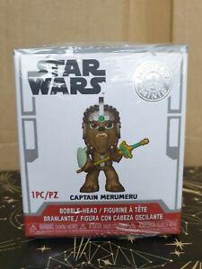 Funko Mystery Mini - Star Wars - Captain Merumeru - New - Smugglers Bounty Excl