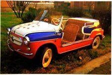 Cartolina Fotografica FIAT 600 Jolly Ghia - Non Viaggiata