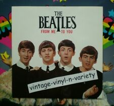 Beatles ( FROM ME TO YOU )  BRITISH IMPORT 45 w/ PIC NM/NM  LENNON/McCARTNEY