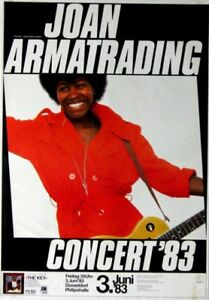 ARMATRADING, JOAN - 1983 - Konzertplakat - Concert - Tourposter - Düsseldorf