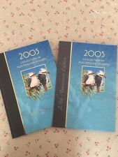 Collection of 2005 Australian Post Year Book Album with Stamps - Deluxe Edition