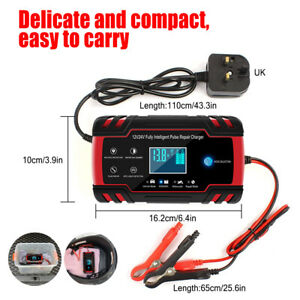 Car Battery Charger Fast Charging/Battery Maintainer/Multiple Battery Protection