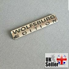 Wolfsburg Edition Badge For VW Emblem Chrome Golf Sticker Passat Jetta TDI GTI