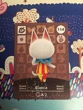 🍃🍃 Animal Crossing Amiibo Card Series 2 - New Horizons 🍃🍃 NEW - Blanca 114
