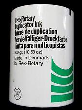 Rex-Rotary  encre de duplication 300 grammes 10.58 oz made in Denmark