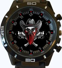 Skull Wild West Outlaw New Style Unique Gift Wrist Watch Fast Uk Seller