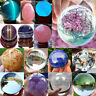 Natural Quartz Clear Magic Crystal Healing Stone Ball Sphere Home Decor Gift Lot