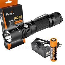 Fenix 2015 PD35 TAC 1000 Lumen Tactical Flashlight LED Rechargeable Set