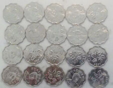 SWAZILAND 5 CENTS 2007 km48 19mm copper nickel dealer coins lot all BU UNC 20pcs