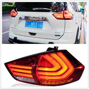 RED LED Taillight Assembly For 2012 2013 2014 2015 2016 NISSAN X-TRAIL
