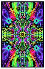 Wormhole Blacklight Poster Print Blacklight Poster Print, 24x36
