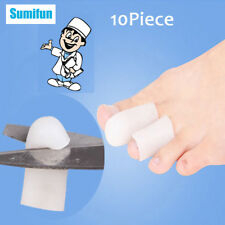 20Pcs 20cm Gel Long Silicone Corn Cover Hallux Valgus Toe Protector D0287