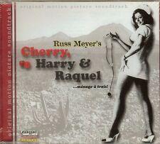 Cherry, Harry & Raquel...Menage a Trois - SOUNDTRACK - CD - NEW