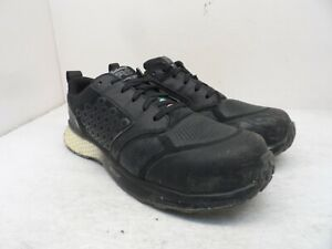 Timberland PRO Men's Reaxion Composite Toe Work Shoe A21SS Black/White Size 9.5W