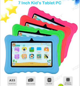 7'' Inch Kids Google Tablet PC  Camera WiFi Android 8.1 Quad Core Dual