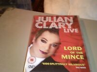 Julian Clary Live: Lord of the Mince (DVD, 2010)