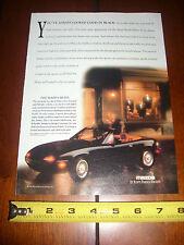 1992 MAZDA MIATA - ORIGINAL AD