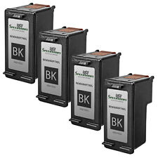 4pk Reman replacement for HP 74XL / CB336WN High Yield Black Ink Cartridge