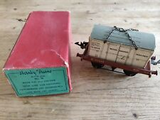 Hornby Trains O Gauge  Nos 50 Low-Sided Wagon with Insul-Meat box - Boxed