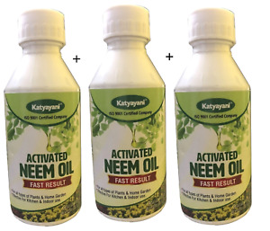 Activated Neem Oil for all  Plants Garden Kitchen Spray Natural Pest Control