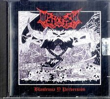 VERDUGO Blasfemia y Perversion CD Ottime Condizioni