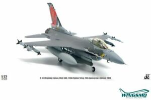 JC Wings USAF General Dynamics F16C Fighting Falcon JCW-72-F16-010
