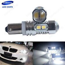 2x H6W BAX9s SAMSUNG LED 10W Standlicht Tagfahrlicht Rückfahrlicht Birne Weiß DE