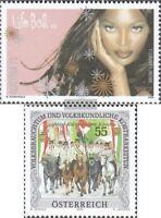 Österreich 2590,2591 (kompl.Ausg.) gestempelt 2006 Aidshilfe, Brauchtum