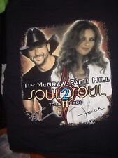 Rare 2006 Tim McGraw and Faith Hill T-Shirt, Size Xl, Nice Shape!