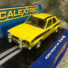 Scalextric 1:32 Ford Escort Mk1 RS1600 Mexico Daytona Yellow Club Model C2966