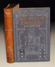 Lewis Carroll Alice's Adventures in Wonderland Lovely Coloured plts Walker 1924