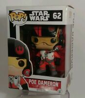 Poe Dameron Funko Pop #62 Star Wars vinyl bobble-head NIB