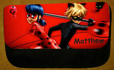 Boys/Girls Personalised Miraculous Ladybug & Cat Noir Pencil Case - Include Name