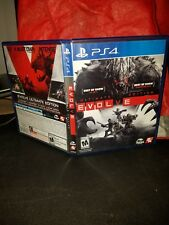 evolve ultimate edition ps4 replacement case and manual only