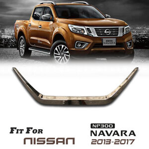 Chrome Tailgate Line Cover Trim For Nissan Navara Frontier NP300 D23 13-2020